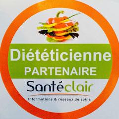 39cf64b5dc68f0 Depuis janvier 2018, je suis partenaire du réseau Santéclair qui propose  des prises en charge de certaines consultations diététiques.